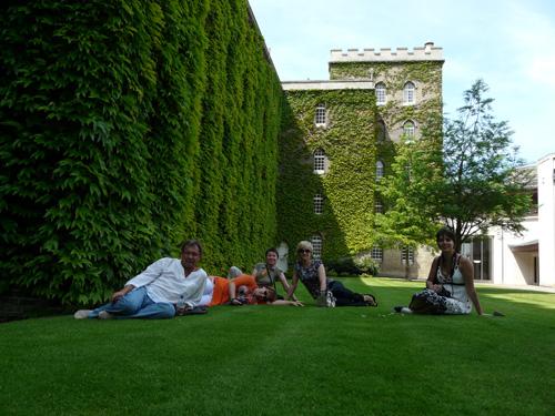 Кембридж. Коледж Тринити