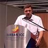 Доклад представителя Министерства регионального развития РФ на всемирном когрессе в Дурбане